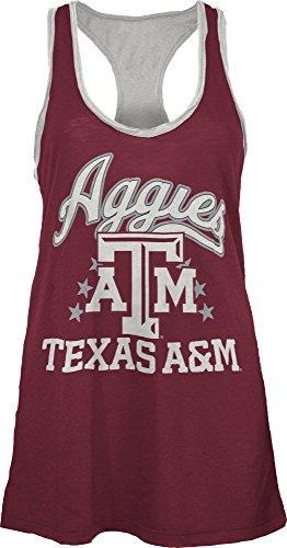 NCAA Texas A&M Aggies Nelly Tank, Small, Maroon