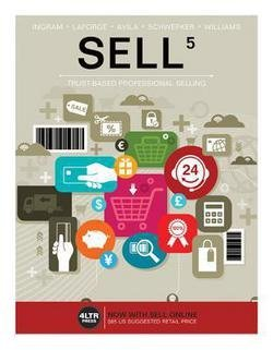 Thomas N. Ingram: Sell (with Sell5 Online, 1 Term (6 Months) Printed Access Card) (Paperback); 2016 Edition
