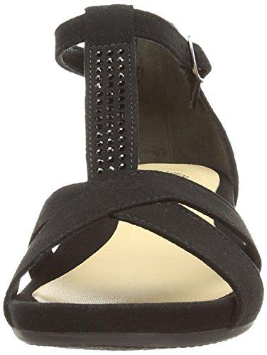 Esclusivo Gabor, Sandalo Donna Nero (nero)