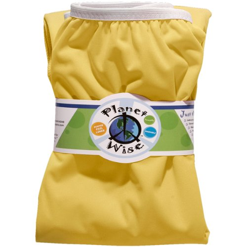 Planet Wise Reusable Diaper Pail Liner, Yellow