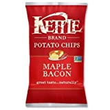 Kettle Maple Bacon Potato Chips, 8.5 Ounce - 12 per case.
