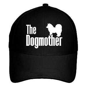 Idakoos The Dogmother Alaskan Klee Kai Baseball Cap Black 2