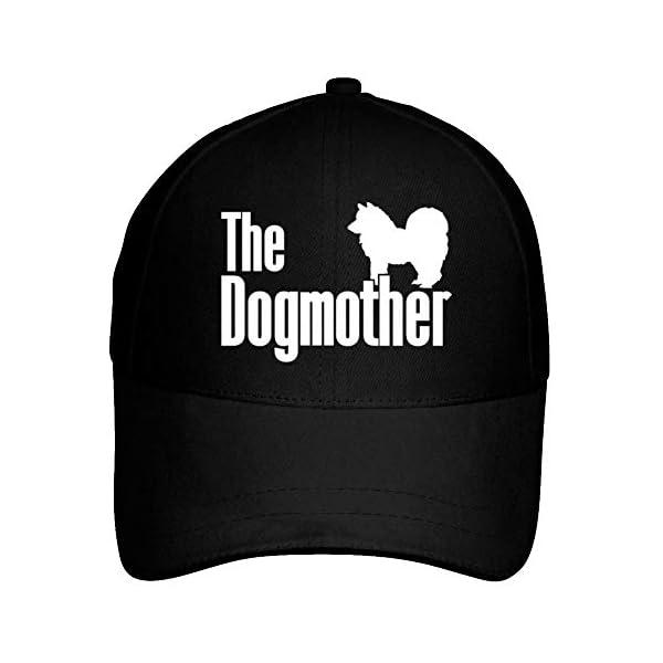 Idakoos The Dogmother Alaskan Klee Kai Baseball Cap Black 1