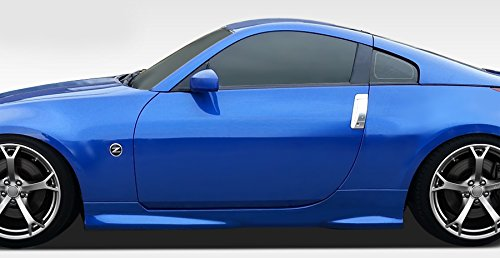 Duraflex ED-WRR-996 N-1 Side Skirts Rocker Panels - 2 Piece Body Kit - Compatible For Nissan 350Z 2003-2008