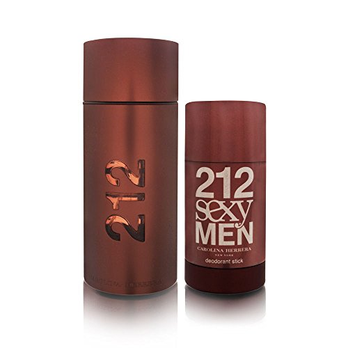 - Carolina Herrera 212 Sexy Set (Eau de Toilette Spray and Deodorant Stick)