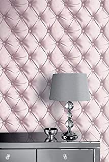 3D Leather Wall Wallpaper Padded Red Quilted Cushioned Effect Vinyl Paste Wall