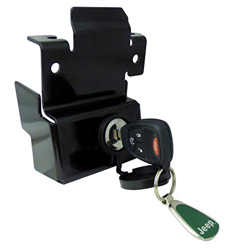 693194 Black Replacement Tailgate Lock - 07-13 Silverado/Sierra Complete Locking Tailgate Handle ()