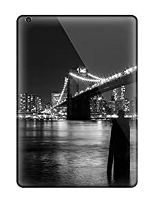 Hot Snap-on Night City Lights Hard Cover Case/ Protective Case For Ipad Air