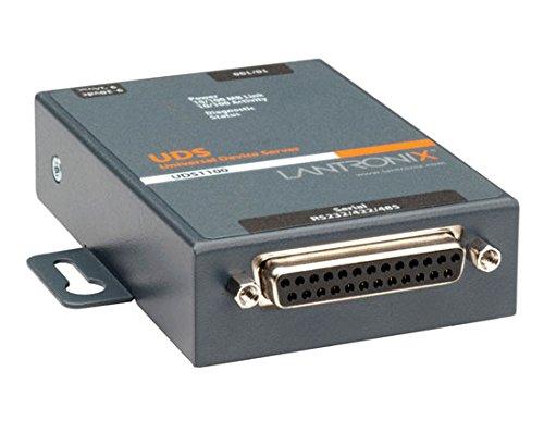 Lantronix Device Server UDS 1100-PoE - Device server - 10Mb LAN, 100Mb LAN, RS-232, RS-422 - UD11000P0-01 by Lantronix