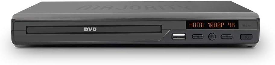 Majority Scholars Milton Kompakter Dvd Player Elektronik