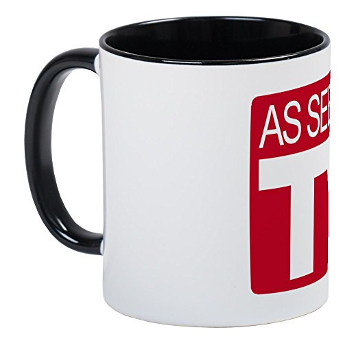 On TV Mug - Unique Coffee Mug, Coffee Cup ()