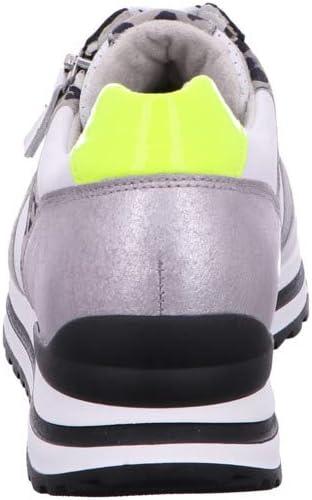 Gabor Comfort Basic dames schoenen (Derby's) Wit wit zilver zwart geel 51