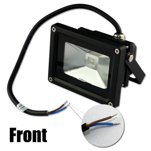 zitrades flood light led outdoor spotlight dc 12v 10w rgb color