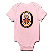 CafePress - USS Cole DDG 67 Infant Creeper - Cute Infant Bodysuit Baby Romper