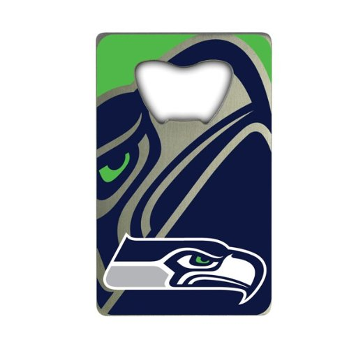 NFL Seattle Seahawks Credit Card Style Bottle Opener
