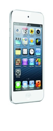 Apple iPod Touch 64GB (5th Generation) NEWEST MODEL - White/Silver (Certified Refurbished) by Apple