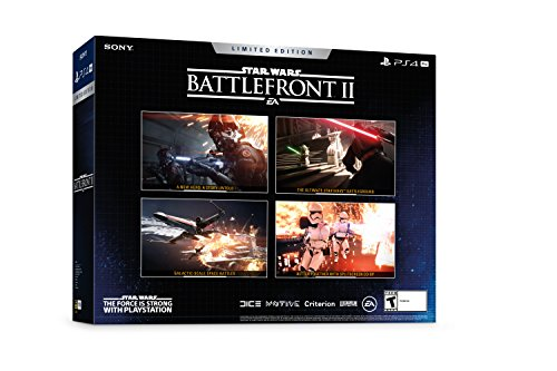 PlayStation 4 Pro 1TB Limited Edition Console - Star Wars Battlefront II Bundle [Discontinued] 6