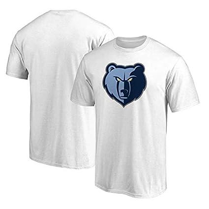 1957a0ae0807 CIGONG Cuello Redondo de Verano de Manga Corta Memphis Grizzlies  Entrenamiento de Baloncesto Camisa Deportiva Camiseta