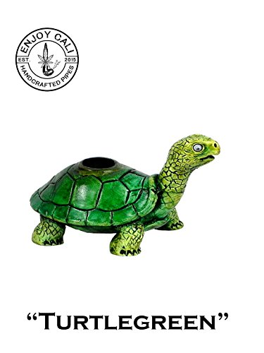 Handmade Tobacco Pipe Art Collectible Smoke functional new Collection (Turtle#3)