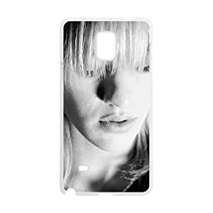Samsung Galaxy Note 4 Cell Phone Case Covers White Bunny Lake