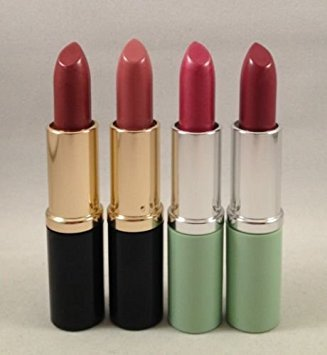 Clinique Shimmer Lipstick (4 Estee Lauder & Clinique Lipstick Set Lot Unboxed Raspberry Glace, Hot Kiss, Pinkberry)