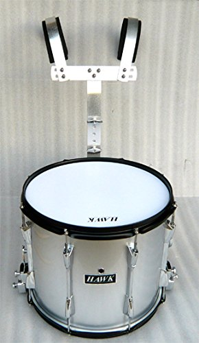 NEW SILVER COLOR MARCHING SNARE DRUM 14