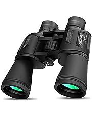 Verrekijker door DANMO, 10x50 BAK4 Prism FMC-lens, HD Professionele verrekijker met riem en draagtas, voor vogels kijken, reizen, concerten, sport, buiten