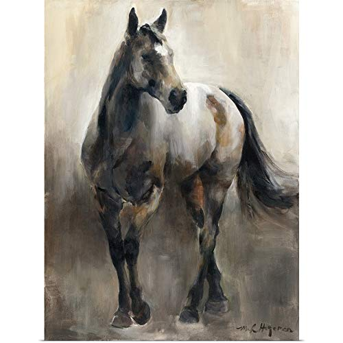 Contemporary Poster Nickel - GREATBIGCANVAS Poster Print Entitled Copper and Nickel by Marilyn Hageman 30