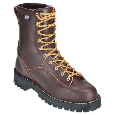 Danner Rain Forest Brown USA Made Waterproof Work Boot 10600