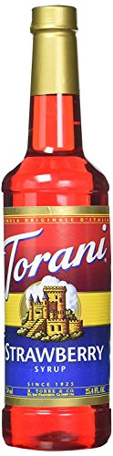 Torani Syrup, Strawberry, 25.4 Ounce (Syrup Strawberry Drink)