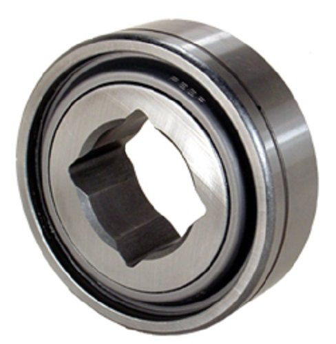 Peer Bearing GW211PP3 Agriculture Heavy Duty Disc Harrow Bearing, Square Bore, Relubricable, Two Triple Lip Seals, 1.5' ID, 3.9370' Cylindrical OD, 1.3120' Inner Ring Width, 1.3120' Outer Ring Width 1.5 ID 3.9370 Cylindrical OD 1.3120 Inner Ring Width
