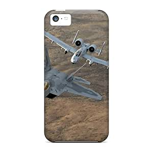 First-class Cases Covers For Iphone 5c Dual Protection Covers Military Jets