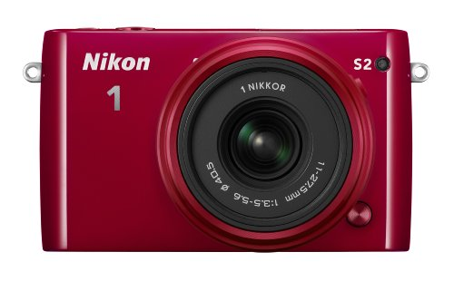 Nikon-1-S2-Digital-Camera-with-1-NIKKOR-11-275mm-f35-56-Lens-Red
