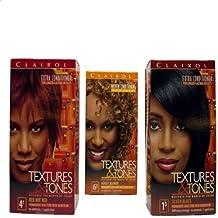 Clairol Textures & Tones Permanent Hair Color, 1N Naturl Black