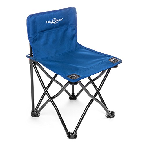 (Lucky Bums Quick Camp Chair, Blue )