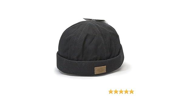 207837e1ffb69 Dickies Canvas Black Docker Beanie Adjustable Cap at Amazon Men s Clothing  store
