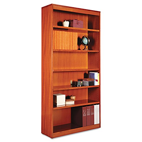 ALEBCS67236MC - Best Square Corner Wood Veneer Bookcase