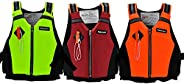 Life Jacket Vests, Buoyancy Aid Swim Jackets for Adults, Inflatable Swimming Vest with Adjustable Cross-Belt,