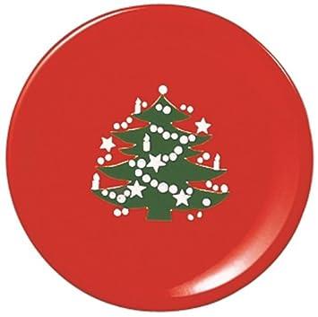 Amazon.com | Waechtersbach Christmas Tree Dinner Plate, Set of 4 ...