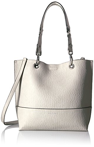 Calvin Klein Reversible Novelty Key Item N/s Tote, Smoke by Calvin Klein