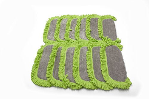 LTWHOME Washable Microfiber Replacement Pads Fit for Dirt Devil Vac, Compare to Part AD51005 (Pack of 12) by LTWHOME (Image #2)