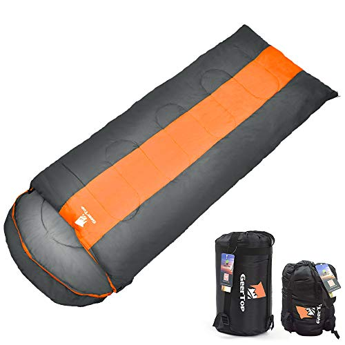 Geertop Portable Camping Sleeping Bag 3 Season