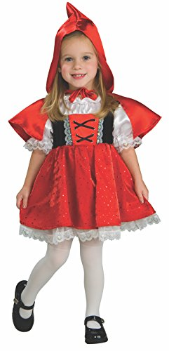 Rubie's Baby Girls' Red Riding Hood Costume, As Shown, Toddler