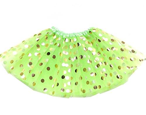 Girls Lime Green - 8