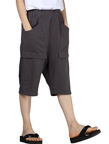 Cargo Pocket Knit Cuff Pants - 6