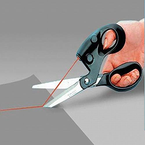 Kikole Laser Guided Household Fabric Sewing Multi-Function Infrared Scissors Sewing ()