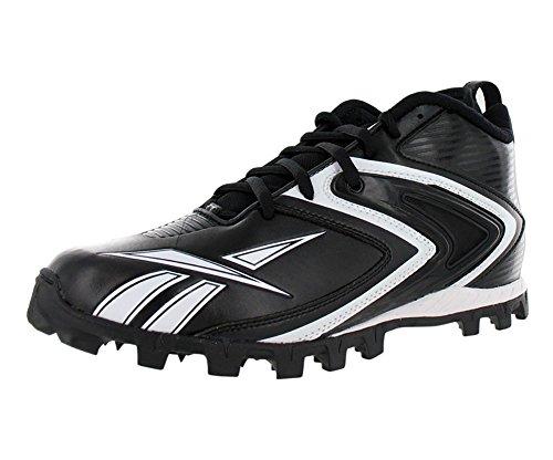 Reebok Pro Ferocious D3 Mens Football Shoe Black/White-promo