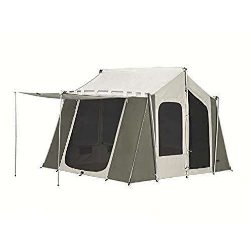 Kodiak Canvas 12x9 Canvas Cabin Tent Tan One Size  sc 1 st  Amazon.com & Canvas Cabin Tents: Amazon.com