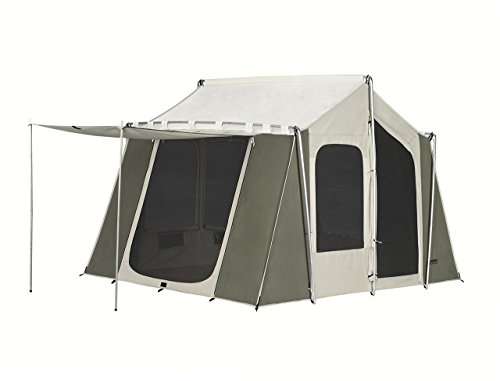 Kodiak Canvas 12x9 Canvas Cabin Tent, Tan, One - Canvas Tent Wall