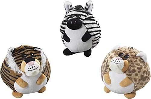 butterballs-jungle-animals-interactive-plush-4-squeaker-toy-3-shape-variety-bundle-1-tiger-1-leopard